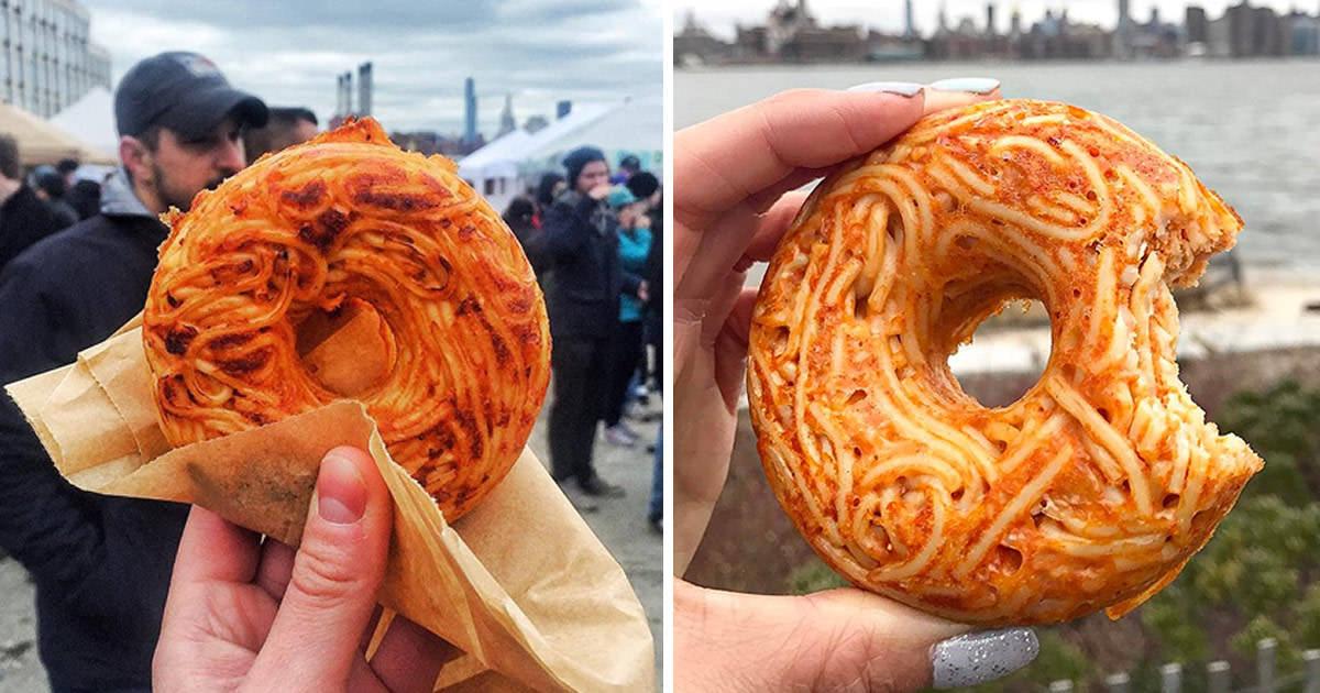 Spaguetti Donuts