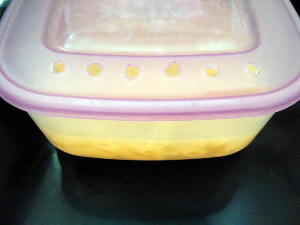 Cocer la pasta en microondas